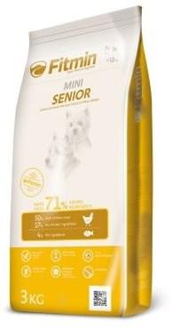 Fitmin dog mini senior - 3kg - Granule pro psy