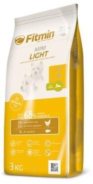 Fitmin dog mini light - 3kg - Granule pro psy