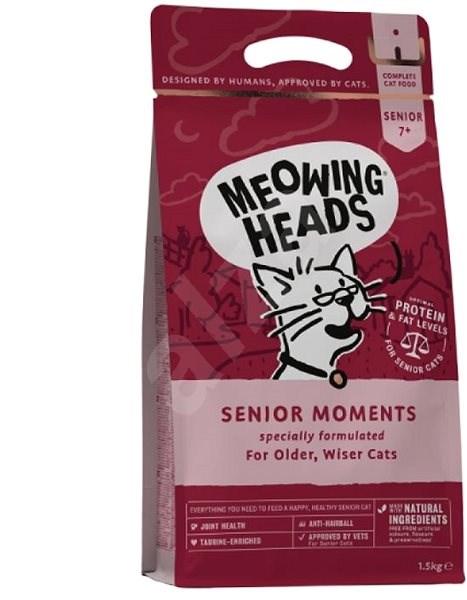 Meowing Heads Senior Moments NEW 1,5kg - Granule pro kočky