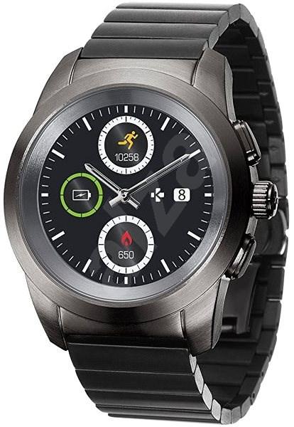 MyKronoz ZeTime Elite Black Metal - 39 mm - Chytré hodinky