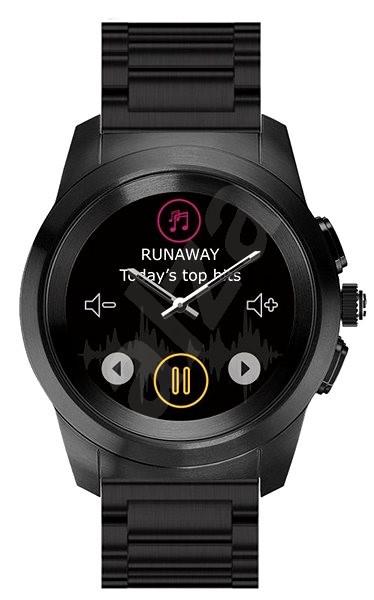 MyKronoz ZeTime Elite Black Metal - 44 mm - Chytré hodinky  1c733b5415f