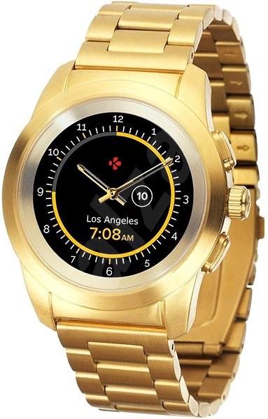 MyKronoz ZeTime Elite Yellow Gold Metal - 44 mm - Chytré hodinky ... 398bb8f50fa