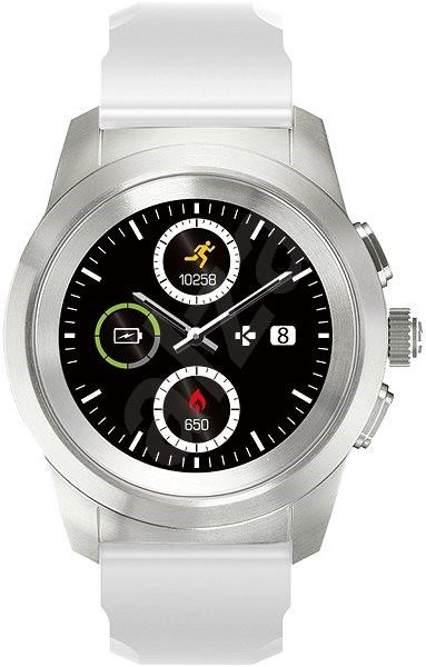 MyKronoz ZeTime Original Silver/White - 44 mm - Chytré hodinky