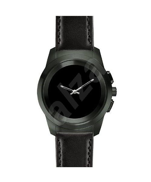 MyKronoz ZeTime Premium Black Black Flat - 44 mm - Chytré hodinky ... f7471d8cc5d