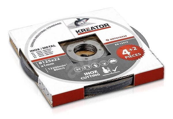 Kreator KRT070420, 125mm - Sada řezných kotoučů