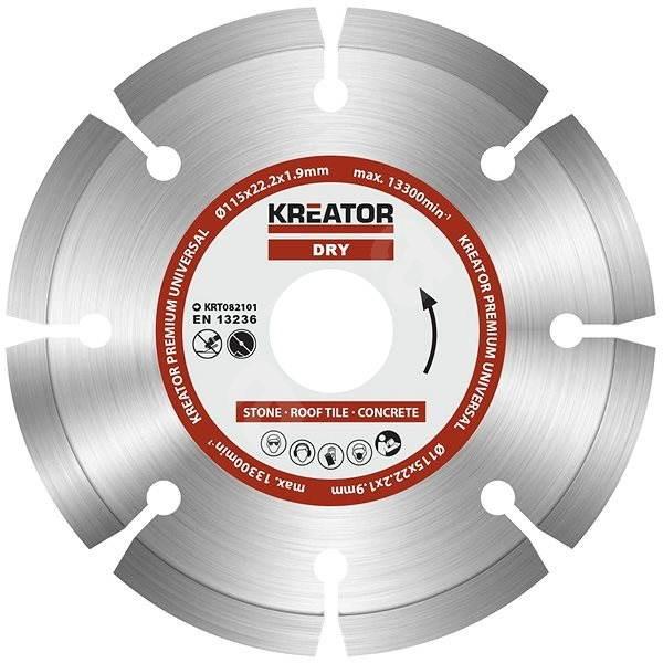 Kreator KRT082101, 115mm - Diamantový kotouč