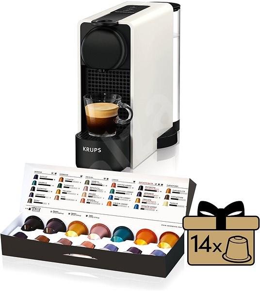 Nespresso Krups XN510110 Essenza Plus White - Kávovar na kapsle