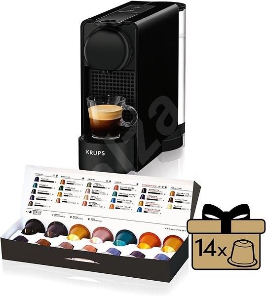 Nespresso Krups XN510810 Essenza Plus Black - Kávovar na kapsle