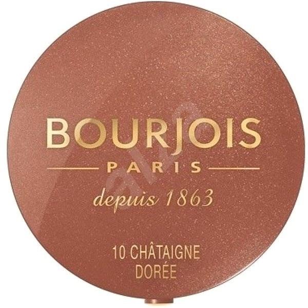 BOURJOIS Blush 10 Chataigne Doree 2,5 g - Tvářenka