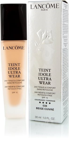 LANCÔME Teint Idole Ultra Wear Foundation SPF15 038 Beige Cuivre 30 ml - Make-up