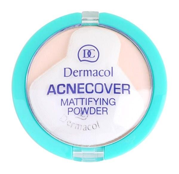 DERMACOL ACNEcover Mattifying Powder No.01 Porcelain 11 g - Pudr