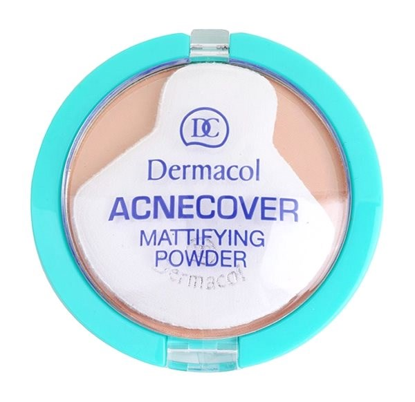 DERMACOL ACNEcover Mattifying Powder No.02 Shell 11 g - Pudr