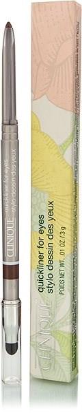 CLINIQUE Quickliner for Eyes 02 Smoky Brown 3 g - Tužka na oči