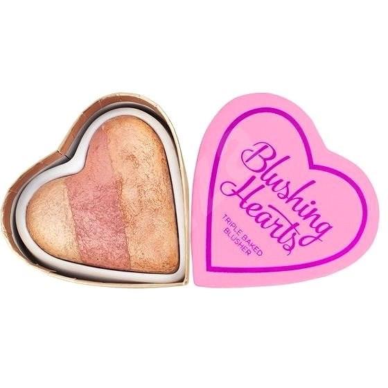 I HEART REVOLUTION Hearts Blusher Peachy Keen Heart 10 g - Tvářenka