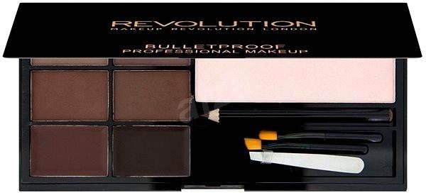 Makeup Revolution Ultra Brow Medium to Dark - Kosmetická paletka