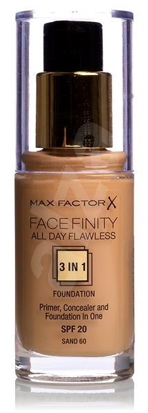 MAX FACTOR Facefinity All Day Flawless 3in1 Foundation SPF20 60 Sand 30 ml - Make-up