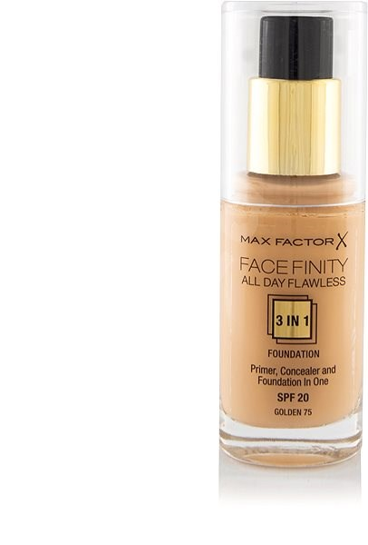 MAX FACTOR Facefinity All Day Flawless 3in1 Foundation SPF20 75 Golden 30 ml - Make-up