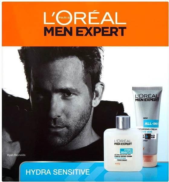 ĽOréal Paris Men Expert Hydra Sensitive Set - Dárková sada kosmetická