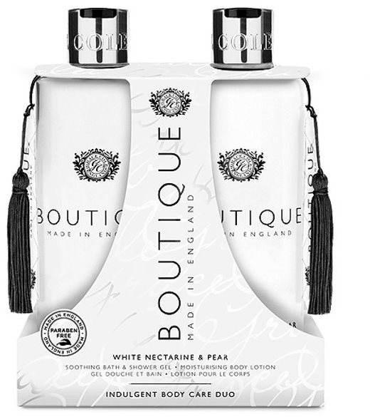GRACE COLE Luxury Body Care Duo White Nectarine and Pear - Dárková sada kosmetická