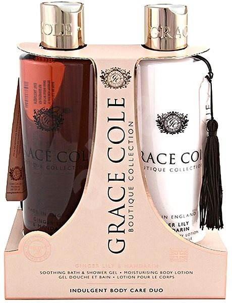 GRACE COLE Luxury Body Care Duo Ginger, Lily and Mandarin - Dárková sada kosmetická