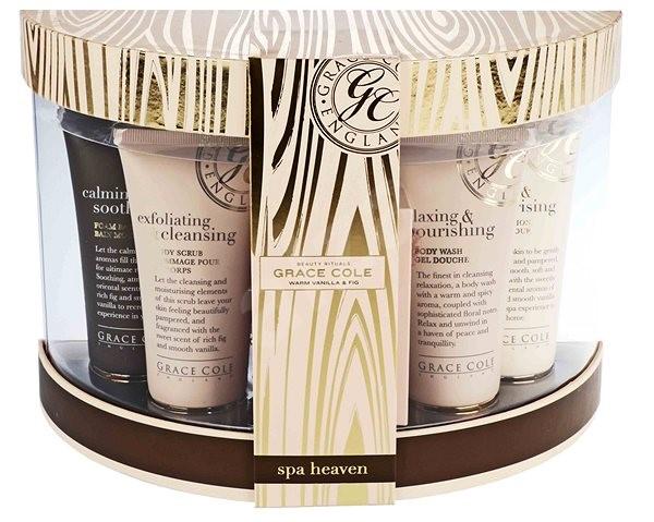 GRACE COLE Warm Vanilla & Fig Gift Set I. - Dárková sada kosmetická