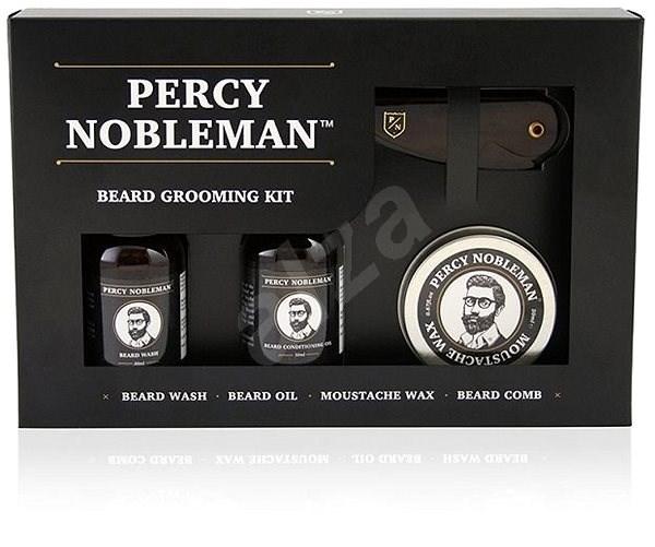 PERCY NOBLEMAN Beard Grooming Kit - Dárková kosmetická sada