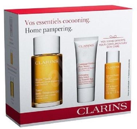 CLARINS Home Pampering Set 3ks - Dárková sada