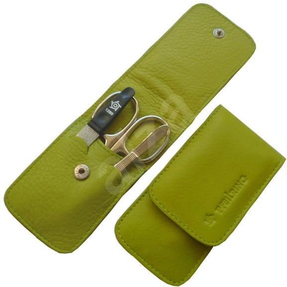 Pfeilring Original Solingen Luxusní cestovní manikúrová sada 11183 Zelená - Manikúra