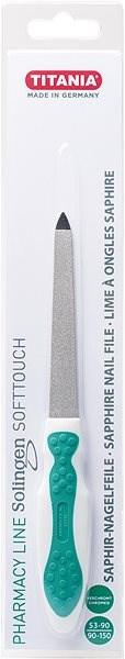TITANIA Safírový pilník na nehty malý SOLINGEN 1445 PH B - Pilník