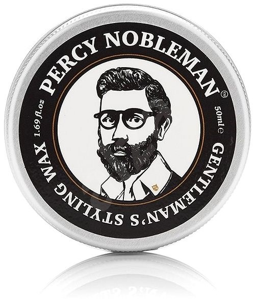 PERCY NOBLEMAN Beard & Hair Wax 50 ml - Vosk na vlasy