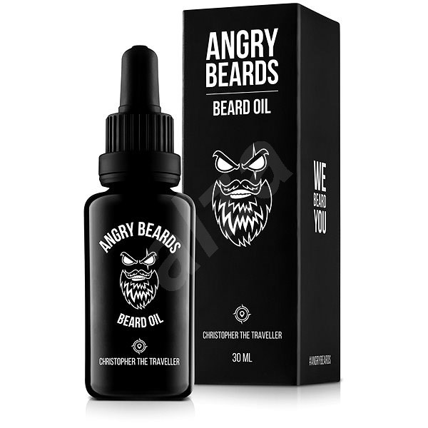 ANGRY BEARDS Christopher the Traveler 30 ml - Olej na vousy