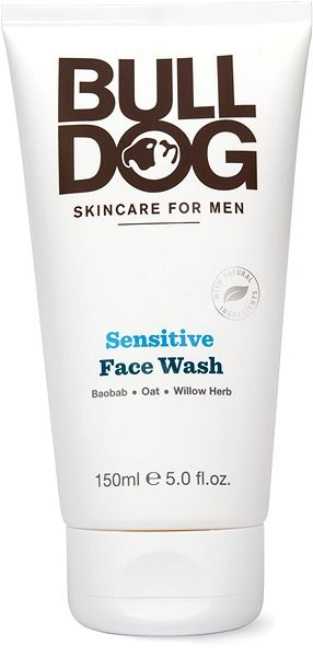 BULLDOG Sensitive Face Wash 150 ml - Čisticí gel