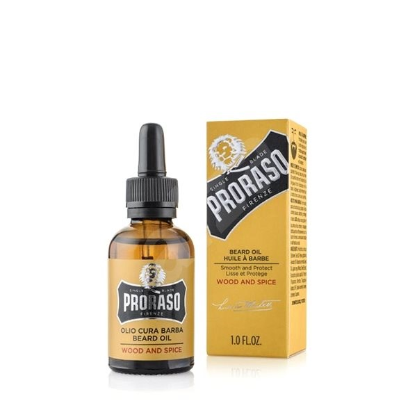PRORASO Wood and Spice Oil 30 ml - Olej na vousy