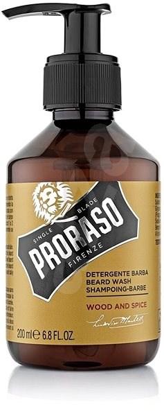 PRORASO Wood and Spice Shampoo 200 ml - Šampon na vousy