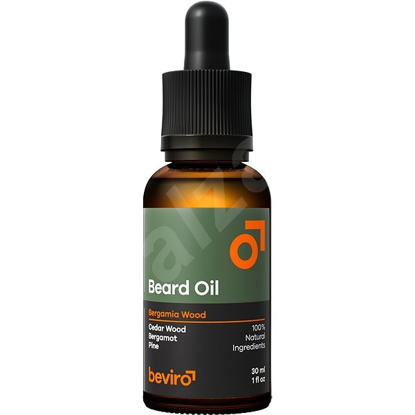BEVIRO Bergamia Wood Oil 30 ml - Olej na vousy