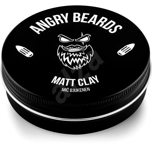 ANGRY BEARDS Mič Bjukenen Matt Clay 120 g - Hlína na vlasy