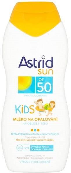 ASTRID SUN Dětské mléko na opalování SPF 50 200 ml - Opalovací mléko