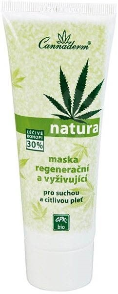 Cannaderm Natura maska regenerační 75 g - Pleťová maska