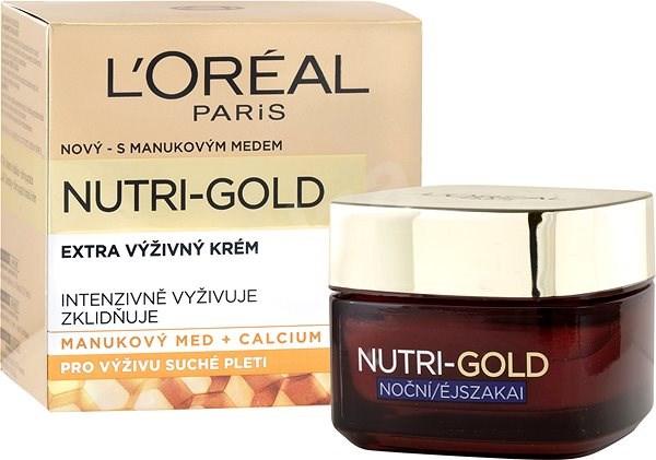 ĽORÉAL PARIS Nutri-Gold Night Cream 50 ml - Pleťový krém