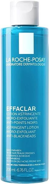 LA ROCHE-POSAY Effaclar Astringent Lotion Micro-Exfoliant 200ml - Pleťová voda