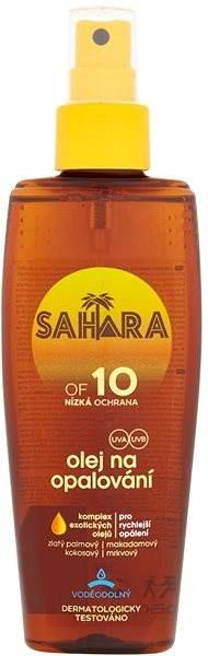 SAHARA Olej na opalování SPF 10 150 ml - Opalovací olej