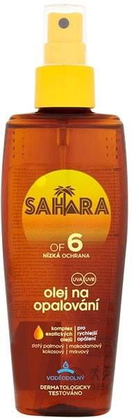 SAHARA Olej na opalování SPF 6 150 ml - Opalovací olej