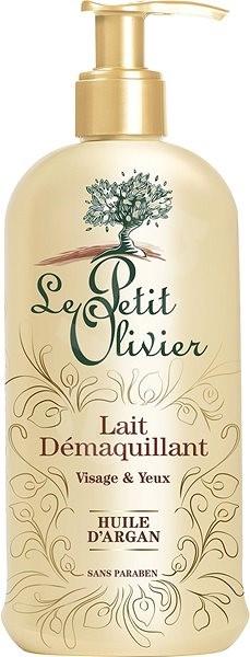 LE PETIT OLIVIER Cleansing Milk with Argan Oil 200 ml - Odličovač