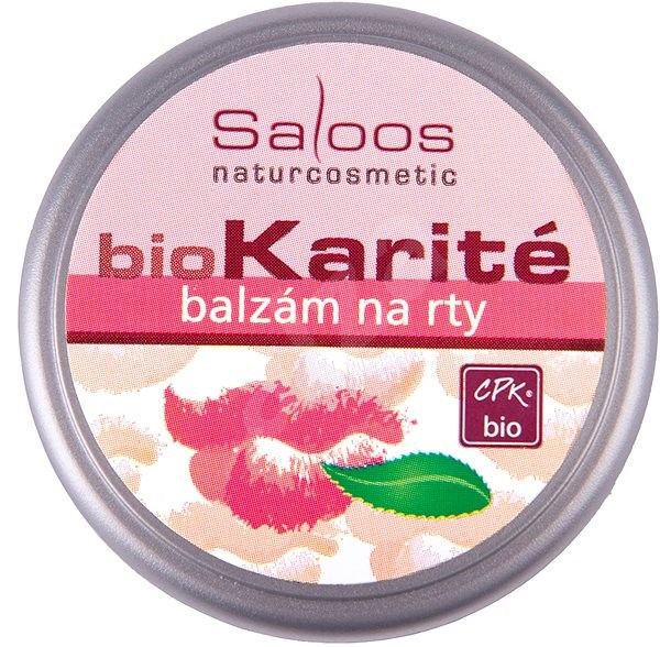 SALOOS Bio karité Na rty 19 ml - Balzám na rty