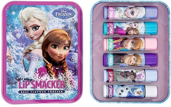 LIP SMACKER Disney Frozen mix box 6× 4 g - Balzám na rty