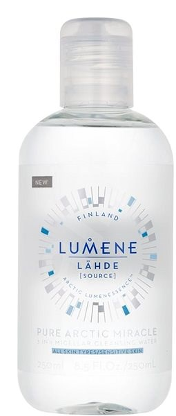 LUMENE Lähde Pure Arctic Miracle 3-in-1 Micellar Cleansing Water 250 ml - Micelární voda