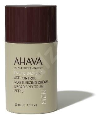 AHAVA Time to Energize Age Control Moisturizing Cream for Men SPF15 50ml - Men's Face Cream