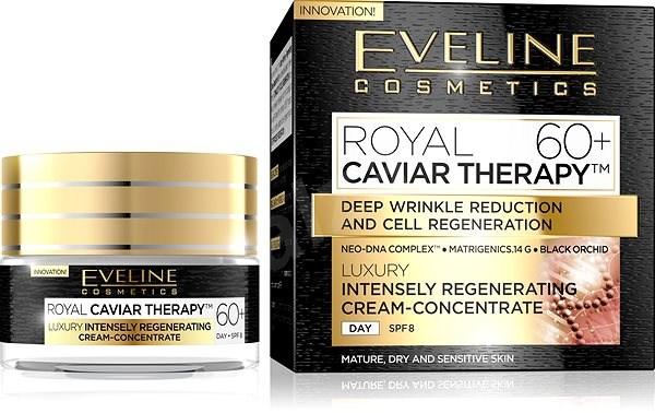 EVELINE COSMETICS Royal Caviar Intensely Regenerating Day Cream-Concentrate 60+  50 ml - Pleťový krém