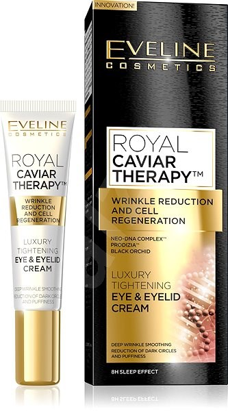 EVELINE Cosmetics Royal Caviar Tightening Eye And Eyelid Cream 15 ml - Oční krém