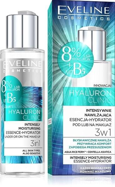 EVELINE COSMETICS Hyaluron Clinic Essence-Hydrator 3-in-1  110ml - Facial Serum